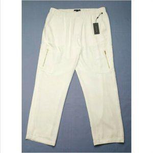 TOMMY HILFIGER Women Smocked Waist Pants 3526E1M